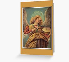 Angel playing the violin, by Melozzo da Forli Greeting Card