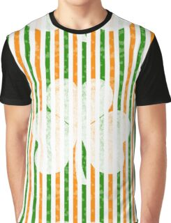 St. Patrick's Day Clover Graphic T-Shirt