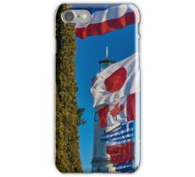 Flag parade iPhone Case/Skin
