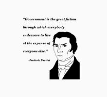 Bastiat on Government Unisex T-Shirt