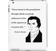 Bastiat on Government iPad Case/Skin