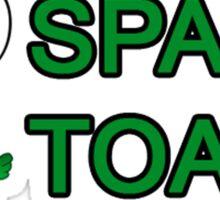 Space Toads UK CSGO Team NAME logo. Sticker
