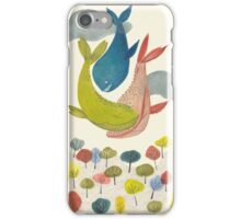 it's raining whales! iPhone Case/Skin