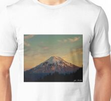 Mount Saint Helens at Sunset Before the Eruption Unisex T-Shirt