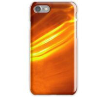 Orange Abstract iPhone Case/Skin