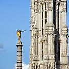 Victory & Saint-Jacques Tower by Steven Guy