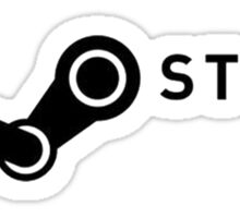 Steam Powered Sticker