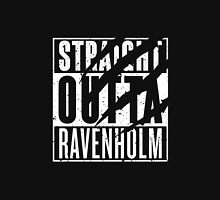 Straight Outta Ravenholm -Alt Women's Fitted V-Neck T-Shirt