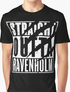 Straight Outta Ravenholm -Alt Graphic T-Shirt