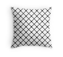 Cross hatch Throw Pillow