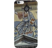 Mosaic over Front Door San Miniato Al Monte Florence Italy 19840715 0040 iPhone Case/Skin