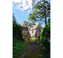 Puckington Photographic Print
