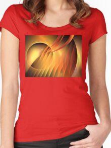 Martian Sunset Women's Fitted Scoop T-Shirt