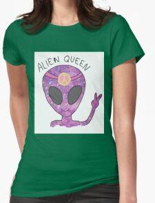 Alien Queen Womens Fitted T-Shirt