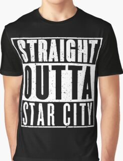 Straight Outta Star City Graphic T-Shirt