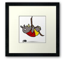 Climb For Your Life Framed Print