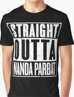 Straight Outta Nanda Parbat Graphic T-Shirt