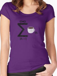 Infinite Coffee Women's Fitted Scoop T-Shirt