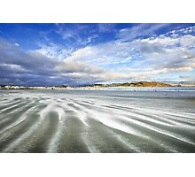Lyall Bay in Streaks Photographic Print