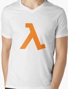 Half-Life - Lambda Symbol Mens V-Neck T-Shirt