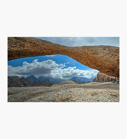 Lathe Arch Between Storms Photographic Print