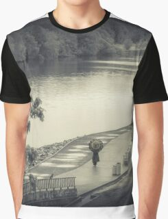 Lonely Walk Graphic T-Shirt