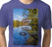 Peaceful Autumn Tri-blend T-Shirt