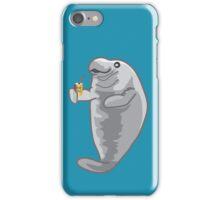 Iced Manatee iPhone Case/Skin