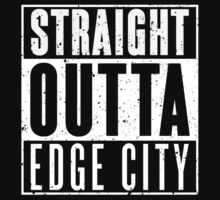 Straight Outta Edge City One Piece - Short Sleeve