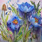 Blue Poppies by bevmorgan