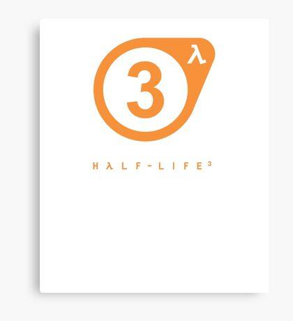 Half-Life - HL3 Confirmed w/ Lambda Canvas Print