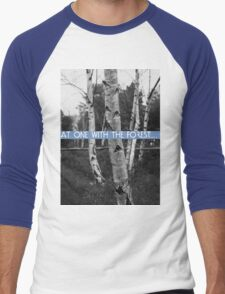 At One With The Forest Men's Baseball ¾ T-Shirt