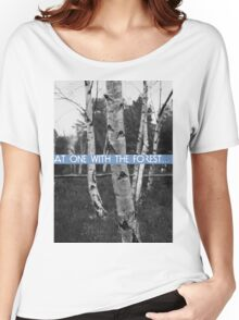 At One With The Forest Women's Relaxed Fit T-Shirt