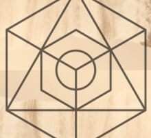 Sacred Geometry 1 Sticker