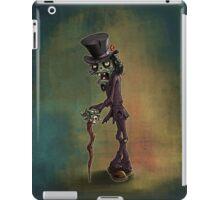 Zombie Gentleman iPad Case/Skin