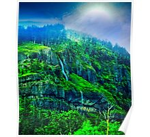 Scenic Highway 30 - Approaching Storm Poster