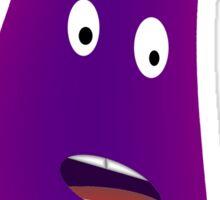 Surprised Eggplant Sticker