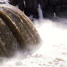 Rideau Falls, March 13. 2015, Ottawa, ON Canada by Shulie1