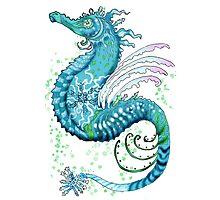 Winter Seahorse Photographic Print