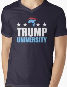 Trump University Mens V-Neck T-Shirt