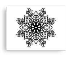 illustration abstract pattern Canvas Print