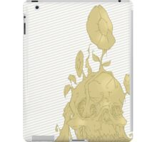 Back to earth gold iPad Case/Skin