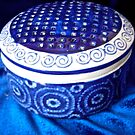 Blue and White Potpourri Bowl by Shulie1