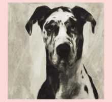 Wetnose Great Dane Sepia One Piece - Short Sleeve
