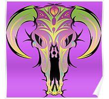 desert skull 2 Poster