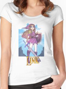 LEGEND OF LINK Women's Fitted Scoop T-Shirt