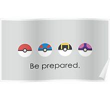 Be Prepared Poster