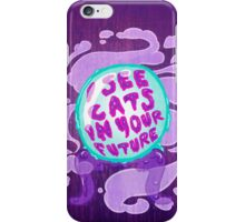 Crystal Ball on wood iPhone Case/Skin