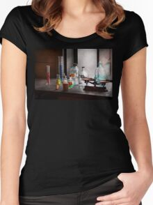 Science - Chemist - Chemistry Equipment  Women's Fitted Scoop T-Shirt