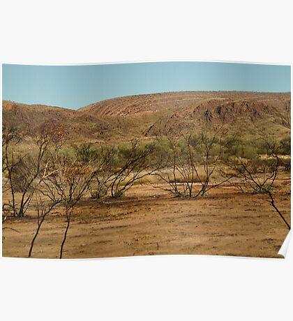 Joe Mortelliti Gallery - MacDonnell Ranges, Northern Territory, Australia.  Poster